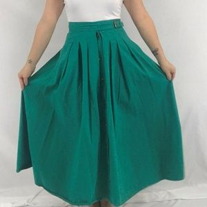 ❗️SOLD❗️80s Pleated Skirt